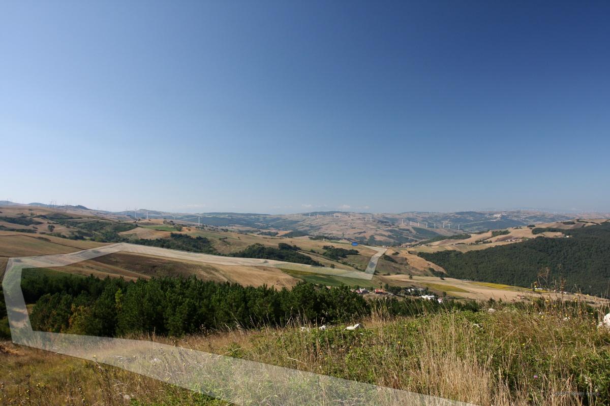 Toppo Titolo - Punto di ripresa: N41°26.035' E015°05.899' 954m. s.l.m. direzione 195°. Territorio sito nel Comune di San Bartolomeo in Galdo BN Italy.